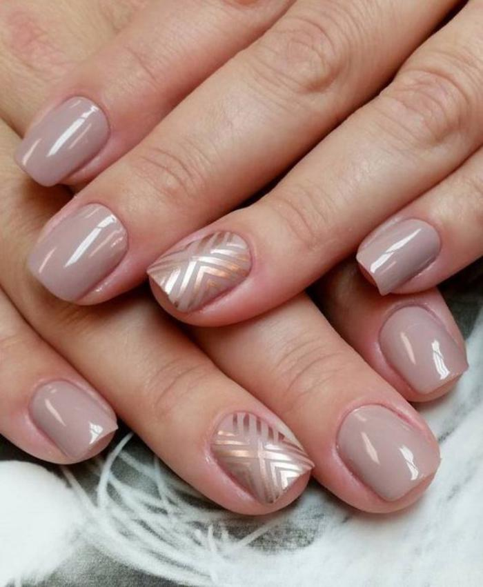 nail-art-facile-ongles-en-couleurs-neutres