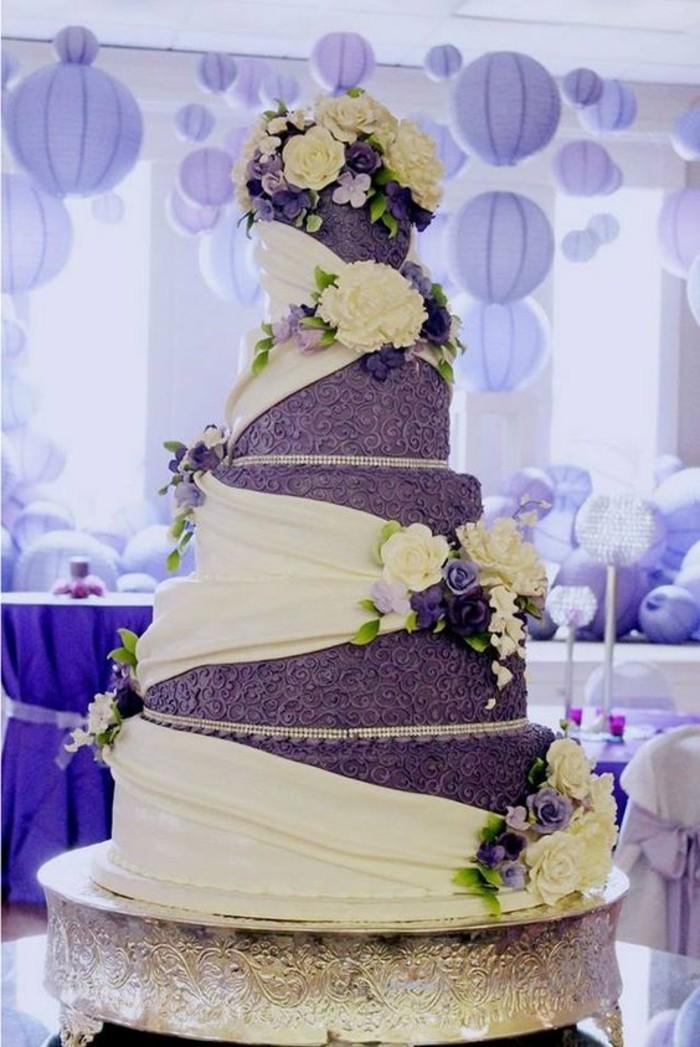 prix-pièce-montée-mariage-musique-pièce-montée-mariage-violet