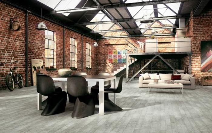 salle-à-manger-style-industriel-appartement-loft-industriel