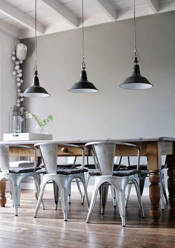 lamnagement dune salle manger style industriel en 48 photos