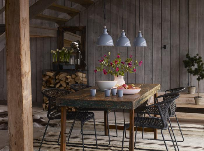 l am 233 nagement d une salle 224 manger style industriel en 48 65 cozy rustic bedroom design ideas digsdigs