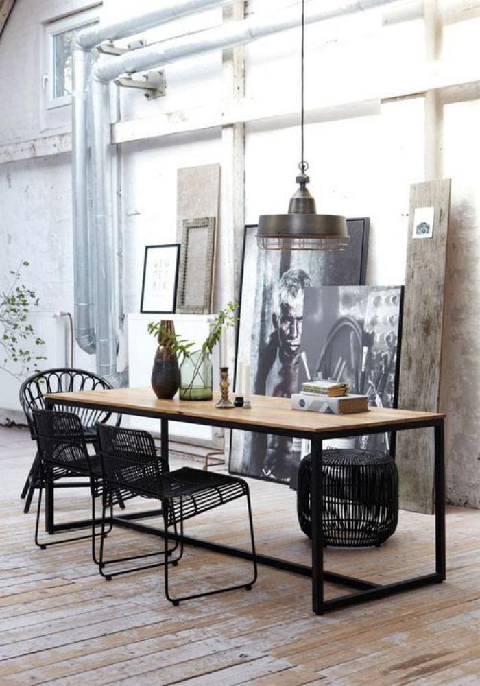 salle-à-manger-style-industriel-meuble-style-industriel-loft-contemporain