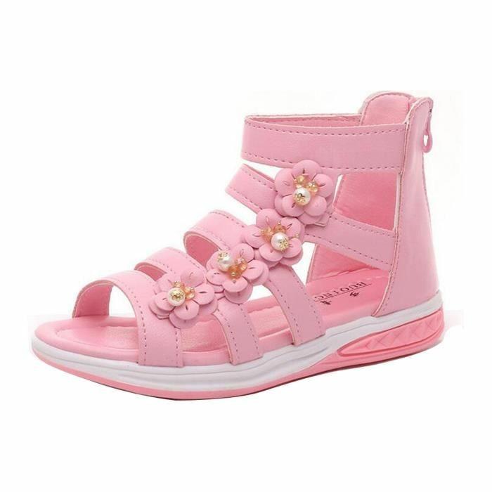 sandales-enfant-fille-roses-Cdiscount-resized