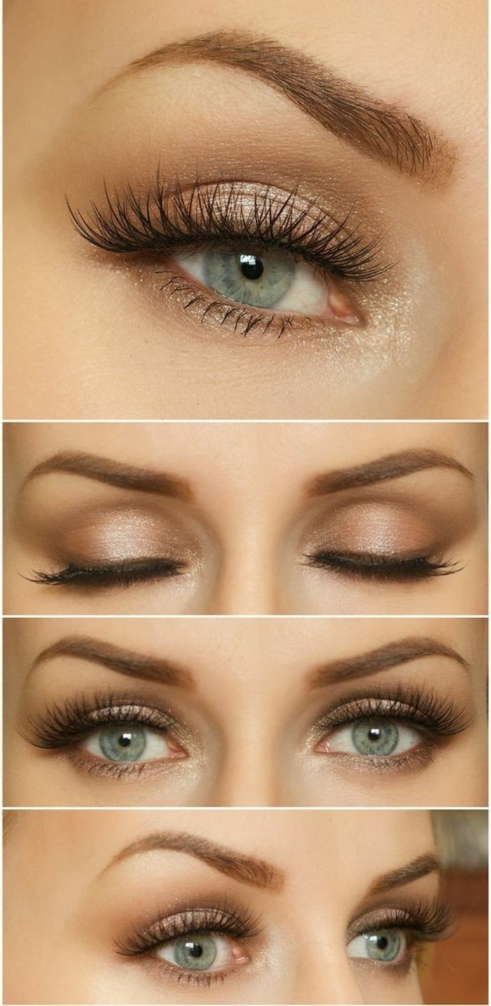 smokey-eye-tuto-maquillage-yeux-bleus-maquillage-smokey-maquillage-yeux-de-chat