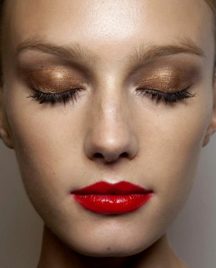 smokey-eyes-marron-tuto-smokey-eyes-maquillage-discret-pour-les-yeux