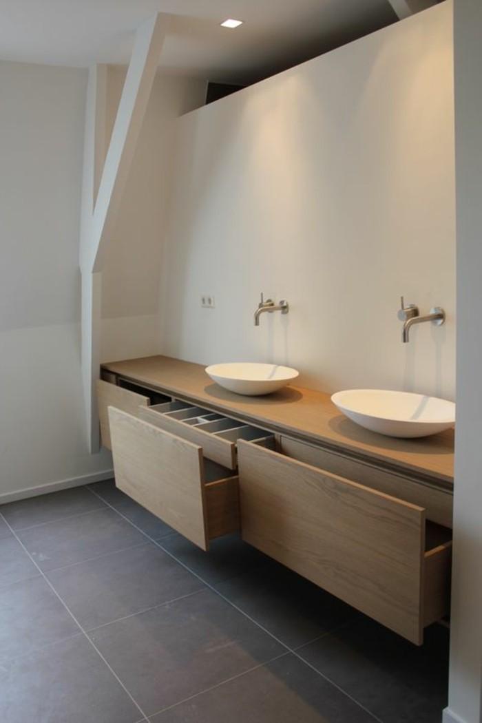 spot-led-encastrable-salle-de-bain-meubles-en-bois-clair-salle-de-bain-moderne