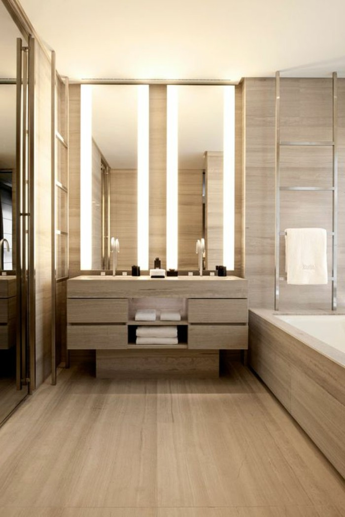 luminaire bois salle de bain. Black Bedroom Furniture Sets. Home Design Ideas