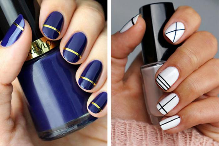 nail-art-facile-se-faire-de-jolis-ongles-avec-fils-autocollants