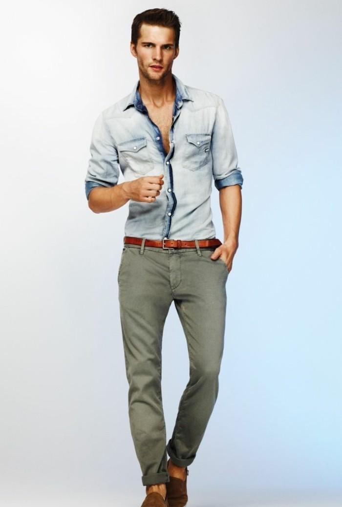 superbe-chemise-manche-courte-mode-2016-preppy