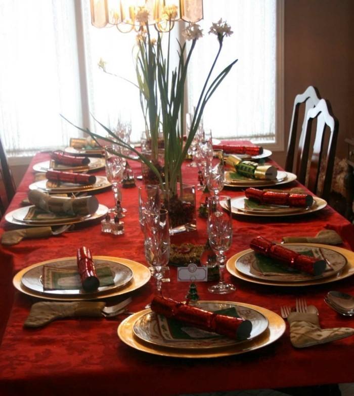 Les tables de f tes astuces et conseils pour d corer la for Table nouvel an