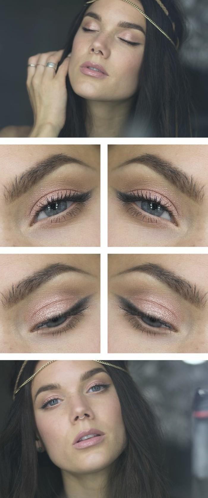 tuto-maquillage-en-rose-yeux-bleus-apprendre-a-se-maquiller-les-yeux