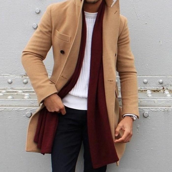 60 variants pour porter le manteau pour homme avec du style. Black Bedroom Furniture Sets. Home Design Ideas