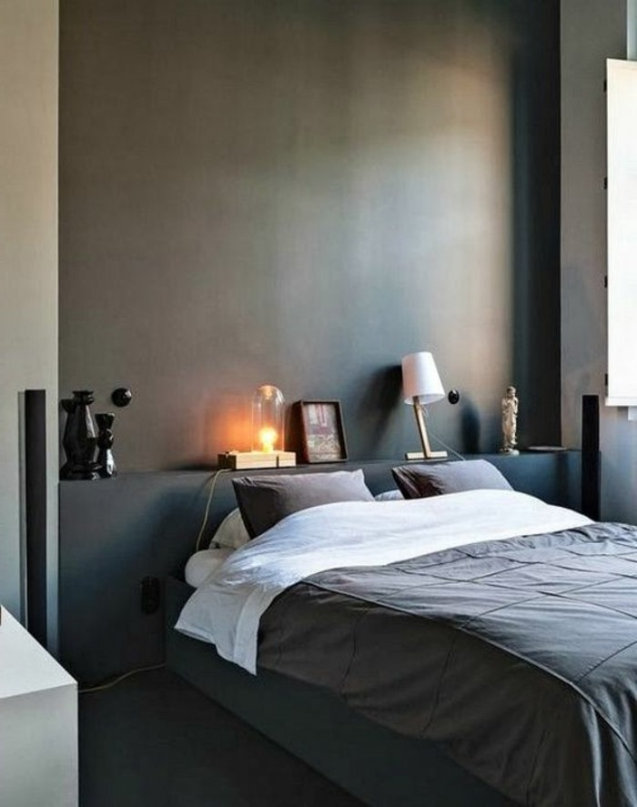 chambre a coucher style romantique avec des. Black Bedroom Furniture Sets. Home Design Ideas