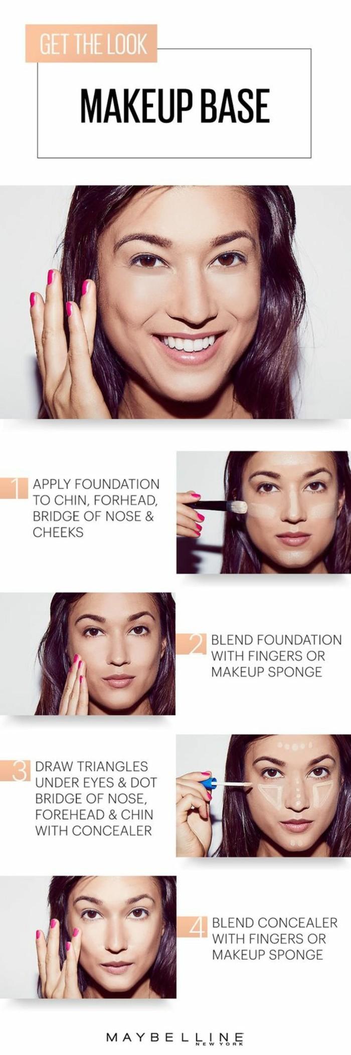 0-maybeline-tuto-maquillage-pour-visage-quel-fond-de-teint-choisir-nos-idées