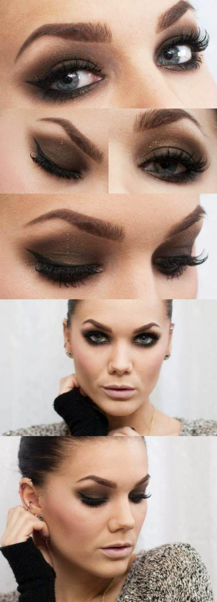 Extrêmement Comment maquiller les yeux bleus. Le maquillage des stars! XC35
