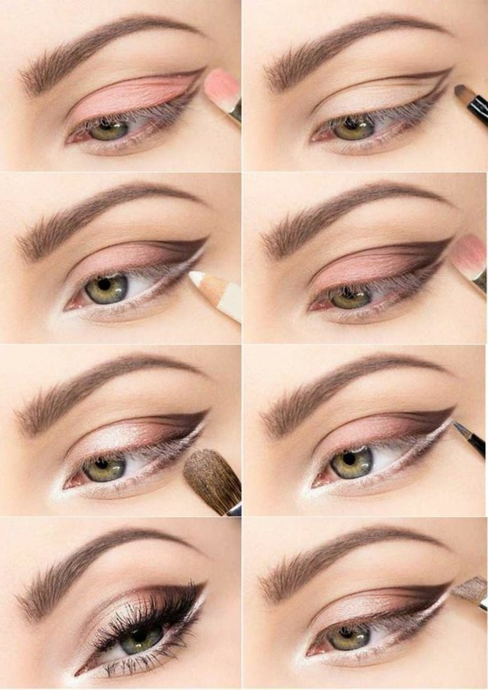 0-technique-de-maquillage-yeux-verts-maquillage-paupiere-smokey-eye