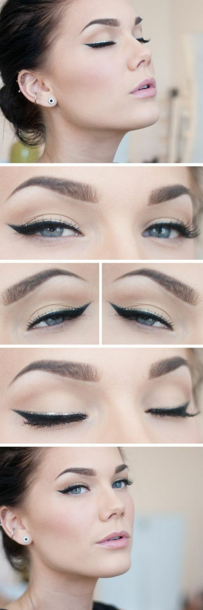 Trouvez votre technique de maquillage dans 56 photos et vid os - Maquillage yeux de chat ...