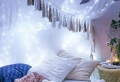 58 idées pour un éclairage romantique! Comment créer une chambre de style Tumblr?