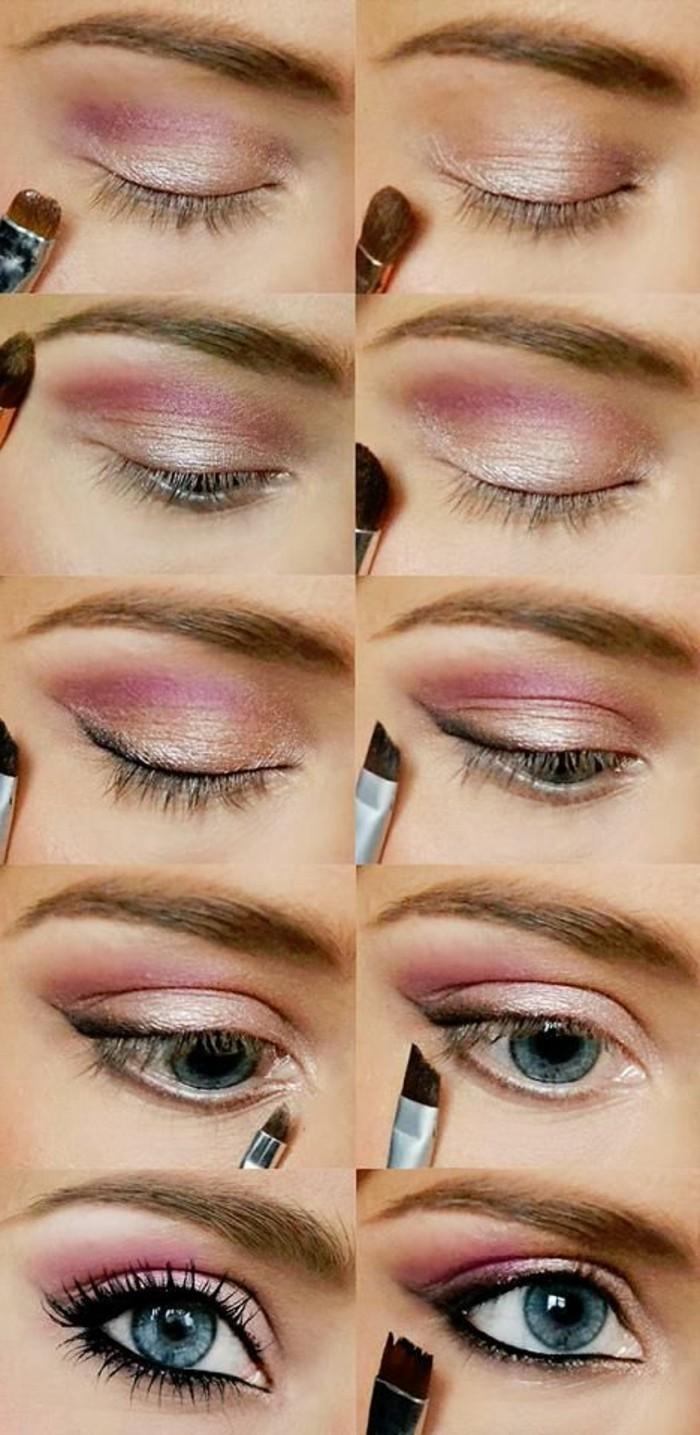 Comment Maquiller Les Yeux Bleus Le Maquillage Des Stars