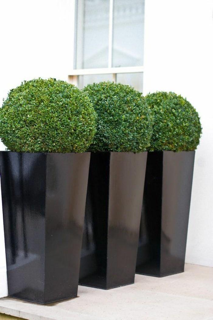 pot pour buis boule 15 buis artificiel tige boule new 180 cm homeezy. Black Bedroom Furniture Sets. Home Design Ideas
