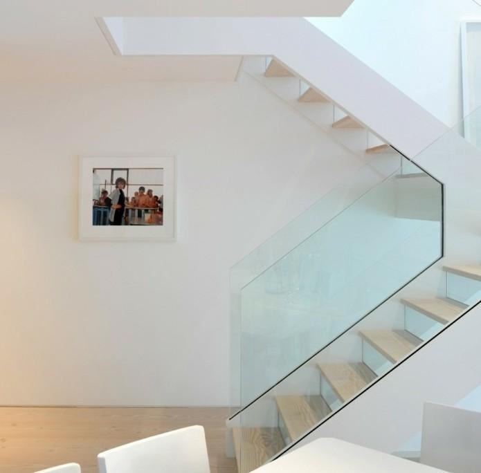 L 39 escalier moderne en 110 photos magnifiques for Rambarde escalier design