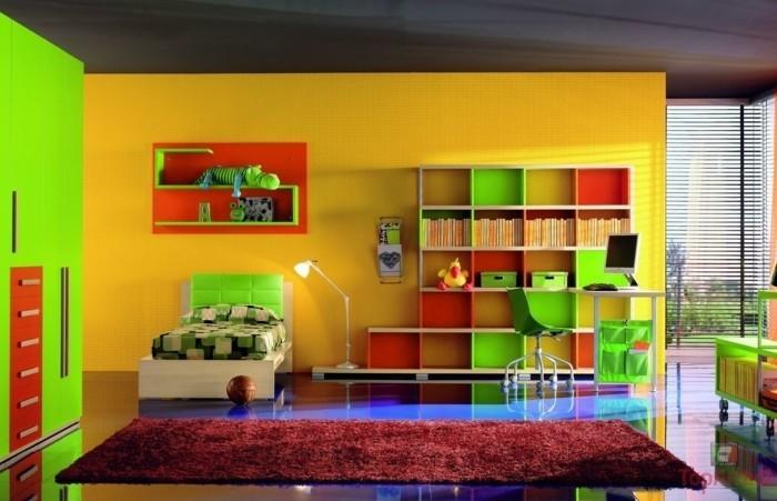 Peinture chambre enfant 70 id es fra ches for Peinture acrylique murale lavable