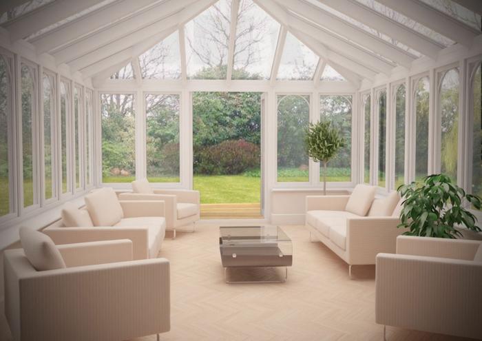 verrière-extérieure-en-blanc-amenagement-veranda-en-blanc-lignes-épurées-veranda-usage-salon-espace-détente