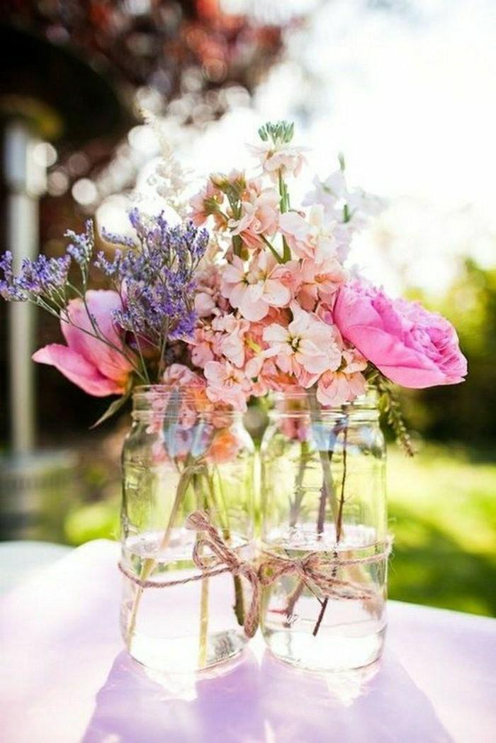 1-deco-de-table-mariage-avec-fleurs-bouquet-de-fleurs-colorés