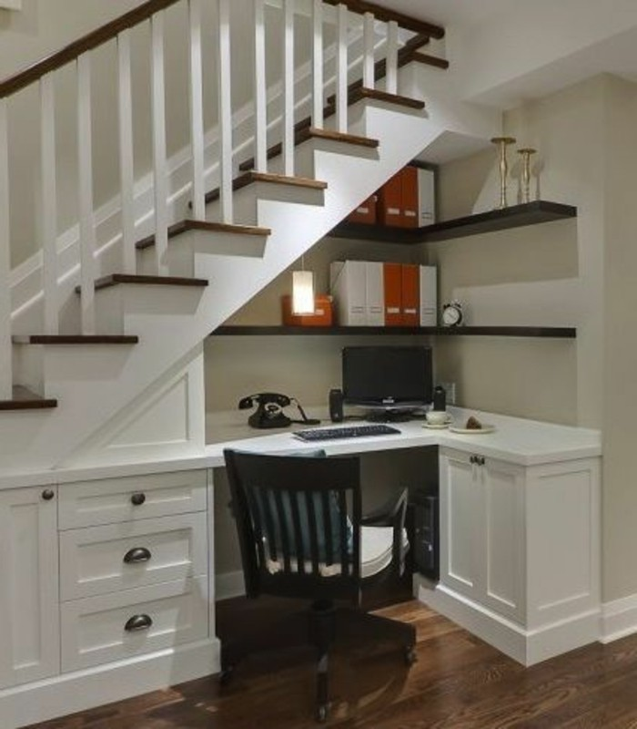 R novation escalier la meilleure id e d co escalier en un - Idee deco sous escalier ...