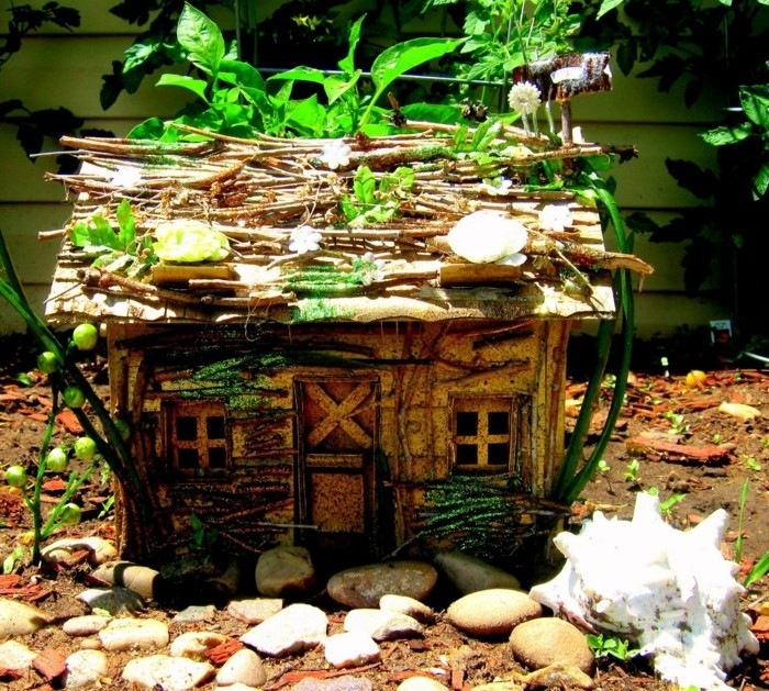 D coration disney dans le jardin plus de 100 photos pour for Decoration jardin en bois