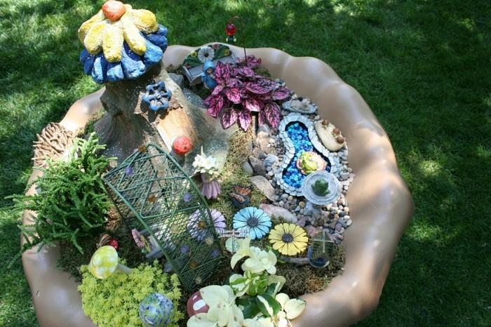 D coration disney dans le jardin plus de 100 photos pour for Fleurs dans le jardin