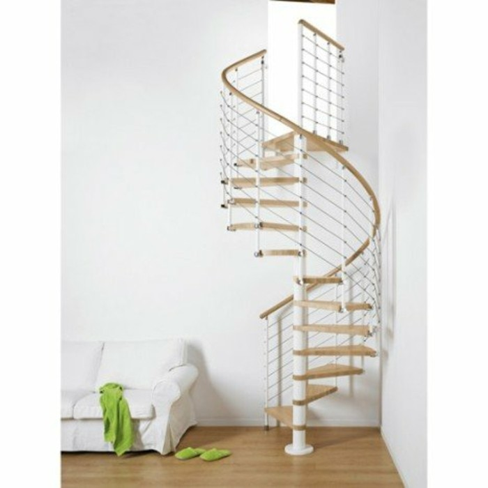 escalier-leroy-merlin-magnifique-design-escalier-colimaçon-structure-metallique-marches-en-hêtre-verni-gain-de-place-assuré