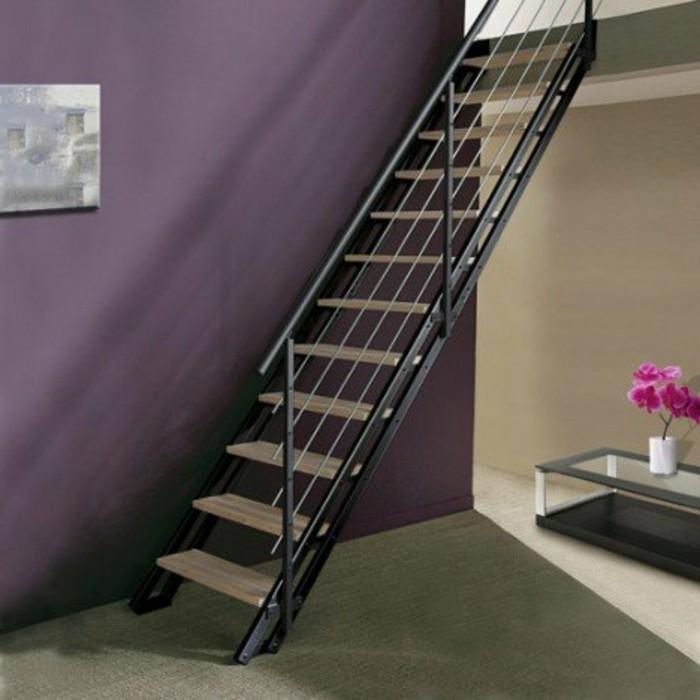 ecalier-leroy-merlin-pour-réaliser-un-gain-de-place-rampe-escalier-metallique-marches-en-bois