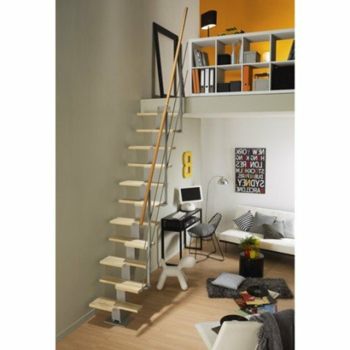 escalier bois leroy merlin. Black Bedroom Furniture Sets. Home Design Ideas