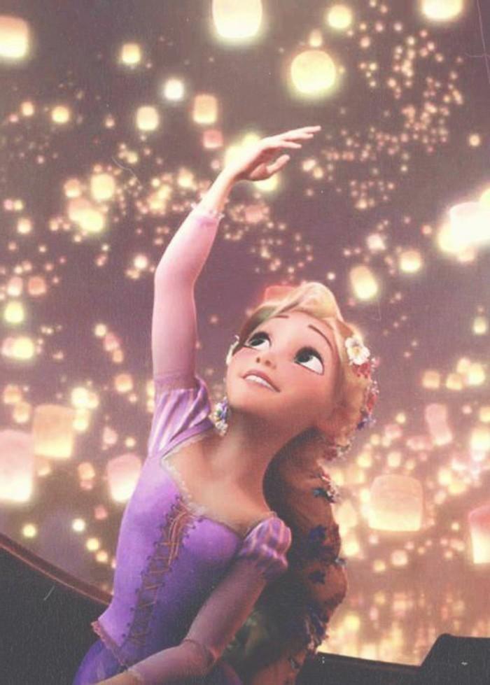 18-deco Disney dans le jardin. Une princesse.