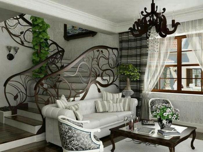 idee-deco-escalier-extraordinaire-jolie-rampe-escalier-en-bois-design-esthétique