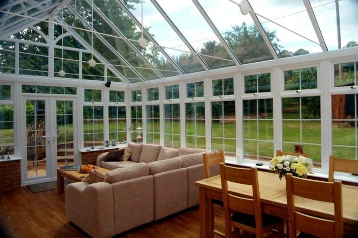 Veranda moderne interieur modern interieur inrichting veranda
