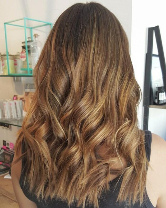 Idees couleur meches pour cheveux chatains