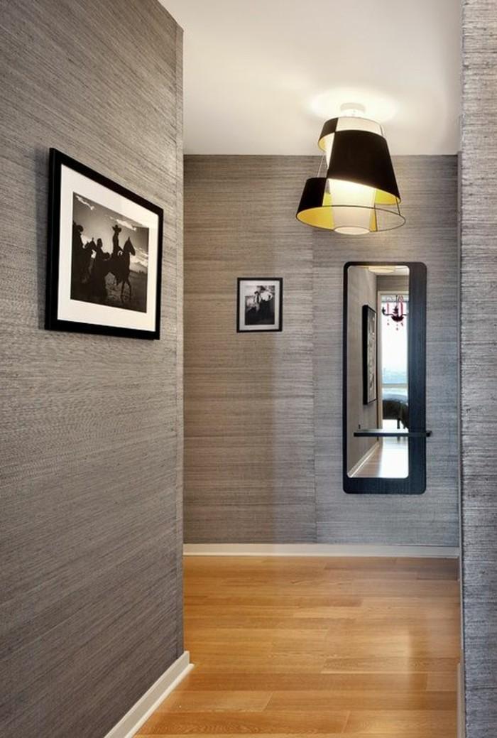 Papier peint pour couloir plus de 120 photo pour vous for Couloir gris et blanc