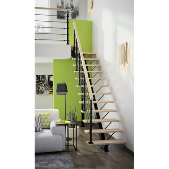 escalier sur mesure lapeyre. Black Bedroom Furniture Sets. Home Design Ideas