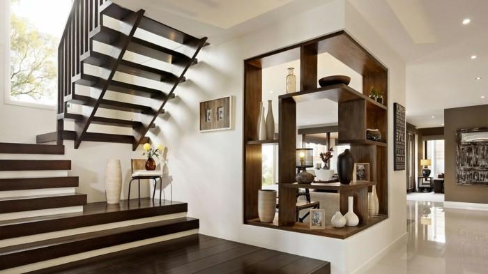 escalier-demi-tournant-tout-en-bois-pour-une-maison-design