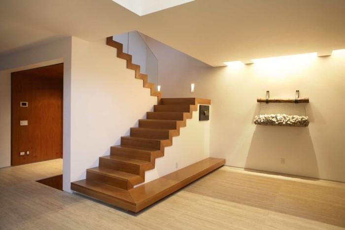 L 39 escalier moderne en 110 photos magnifiques - Modelos de escaleras de interiores de casas ...