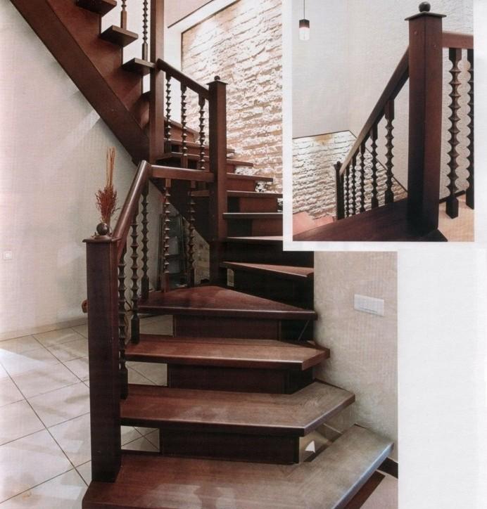 escalier-moderne-enescalier-tournant-en-bois-design-vintage
