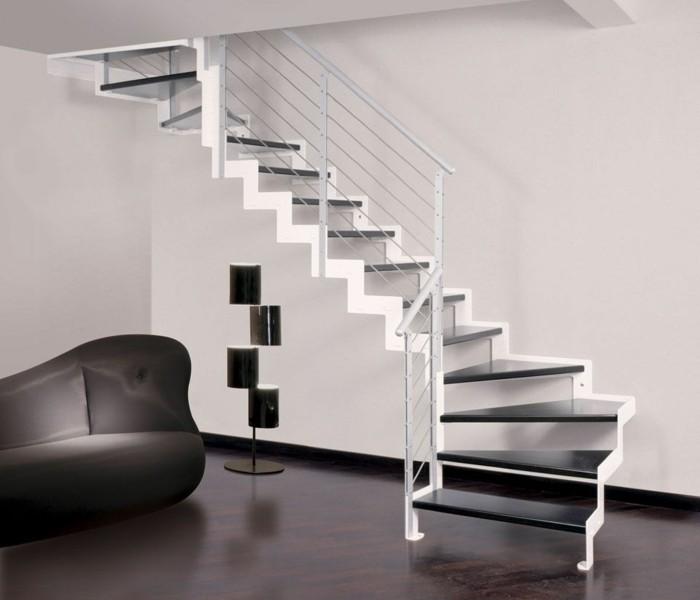 escalier-moderne-escalier-quart-tournant-en-noir-et-blanc-balustrade-métallique