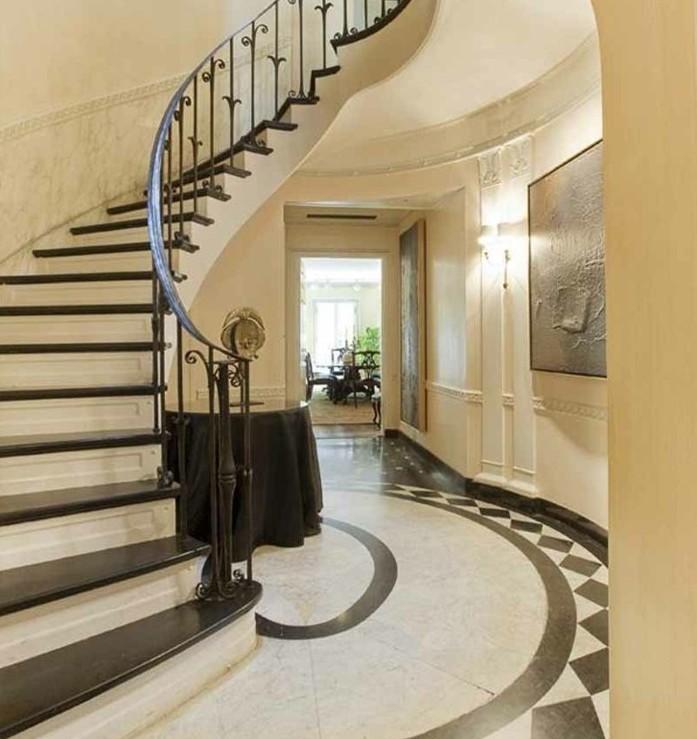 escalier-moderne-escalier-quart-tournant-style-élégant