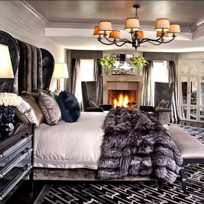 interieur maison romantique. Black Bedroom Furniture Sets. Home Design Ideas