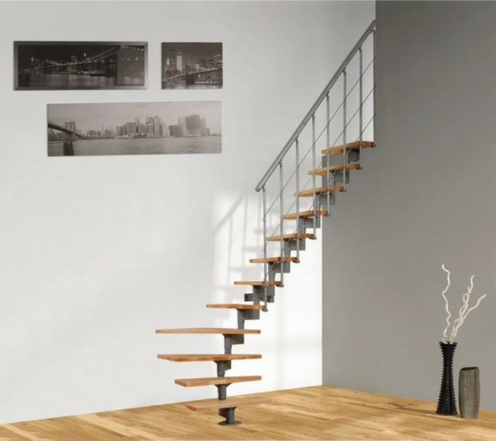 escalier gain de place colimacon escaliers with escalier. Black Bedroom Furniture Sets. Home Design Ideas