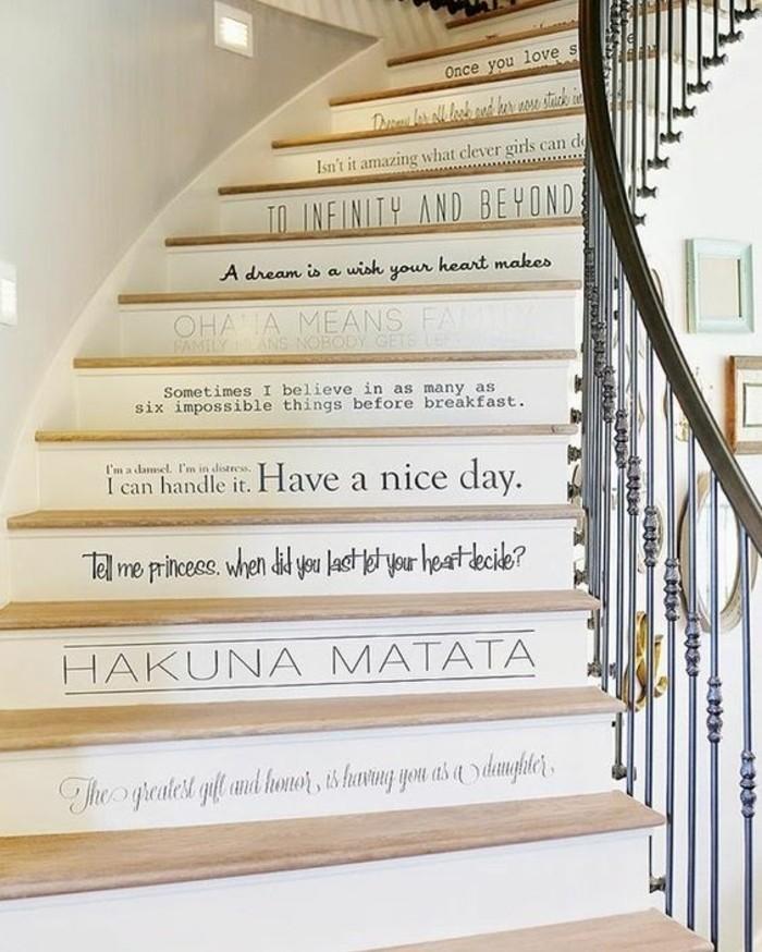 Rénovation escalier. La meilleure idée déco escalier en un clic