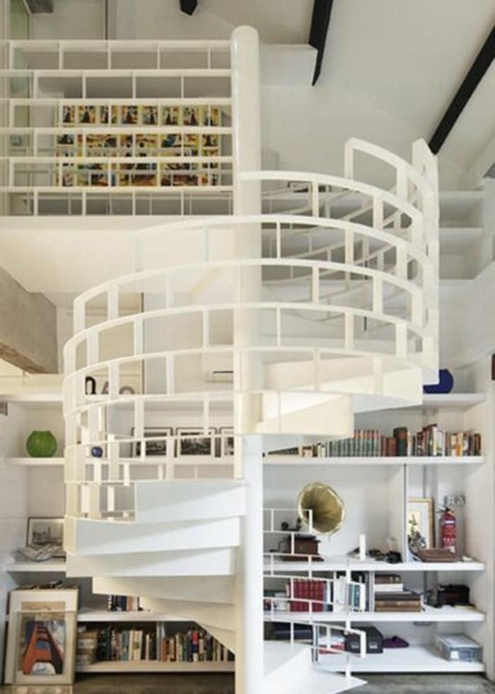 escalier-moderne-en-blanc-joli-escalier-helicoidal-modele-rambarde-escalier-protectrice