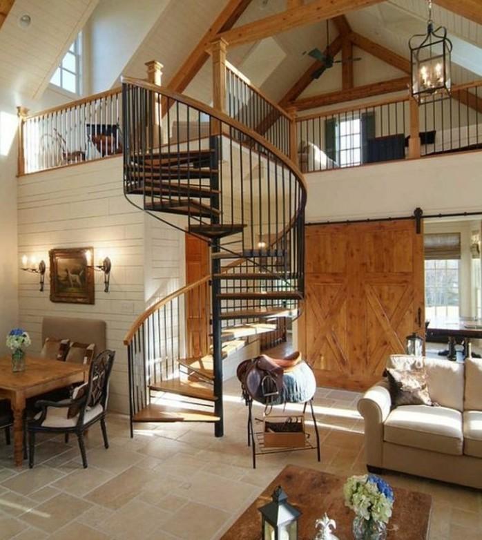 escalier-moderne-escalier-helicoidal-classique